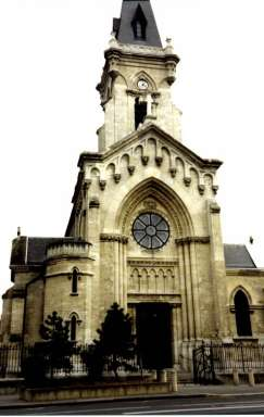 Photography of Sainte Marthe church